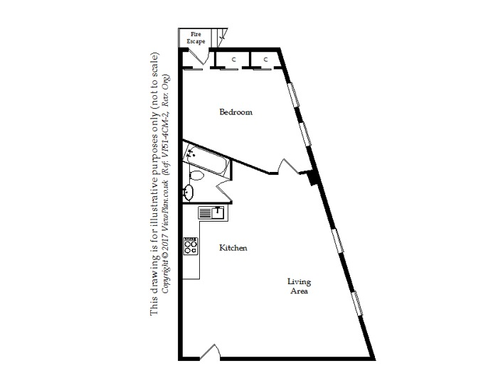 Floorplan of Queens Road, Penarth, CF64 1BQ