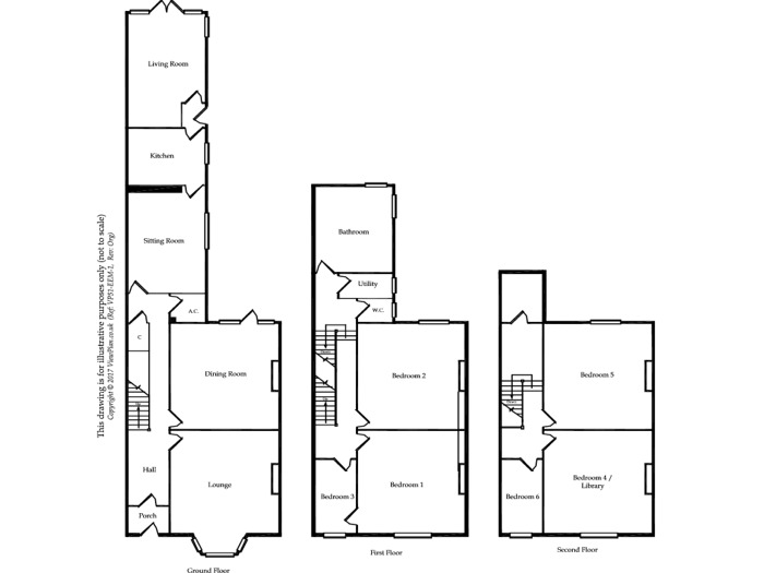 Floorplan of Archer Road, Penarth, CF64 3LS