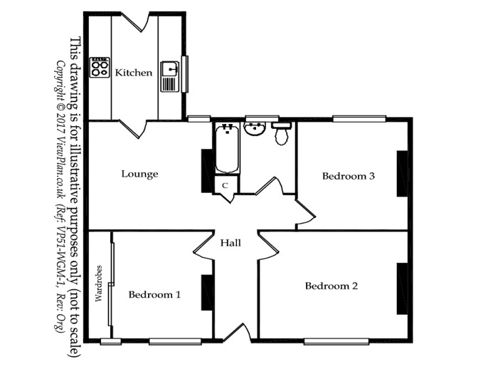 Floorplan of Queens Road, Penarth, Penarth, CF64 1DL