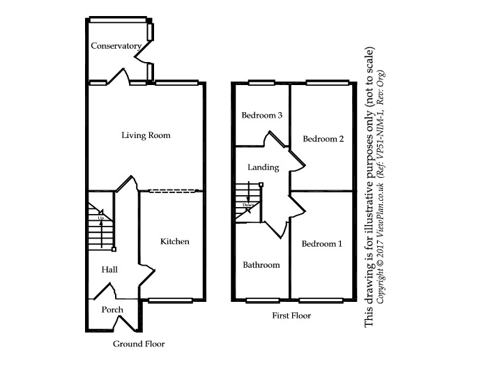 Floorplan of Gainsborough Road, Cogan, CF64 2LD